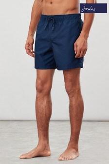 Joules Blue Heston Printed Swim Shorts