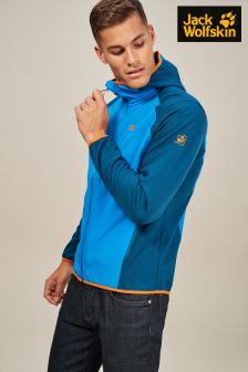 Jack Wolfskin Blue Zenon Soft Shell Jacket