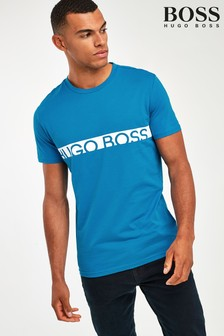 BOSS Chest Stripe Logo UV T-Shirt