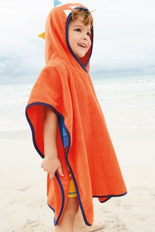 Monster Towelling Poncho (9mths-6yrs)