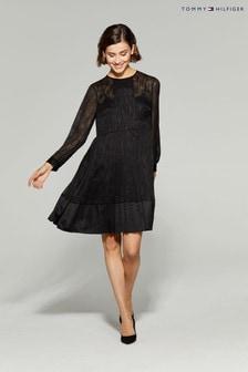 Tommy Hilfiger Black Daphne Bracelet Cuff Dress