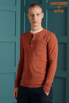 Superdry Legacy Long Sleeve Henley Top