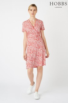 Hobbs Red Darcie Dress