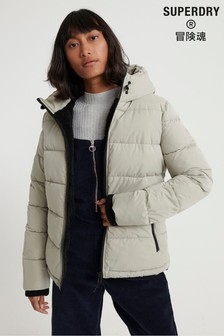 Superdry Akan Microfibre Padded Jacket