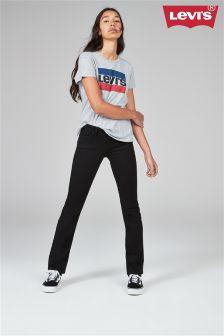 Levi's® 714™ Black Straight Leg Jean