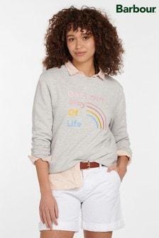 Barbour® Coastal Grey Sandridge Sweatshirt