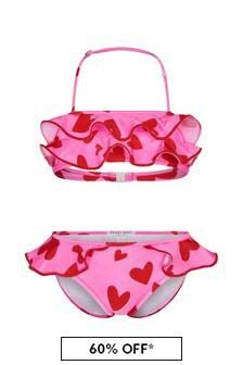 Nessi Byrd Pink Girls Pink Bikini