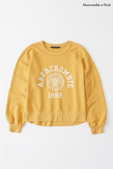 Abercrombie & Fitch Yellow Jumper