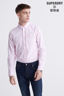 Superdry Pink Long Sleeve Shirt