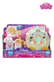Disney™ Princess Wooden Cinderella Transforming Carriage Playset