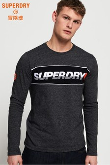 Superdry Appliqué New House Long Sleeve T-Shirt