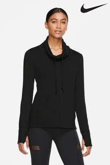 Nike Yoga Cover-Up Sweat Top