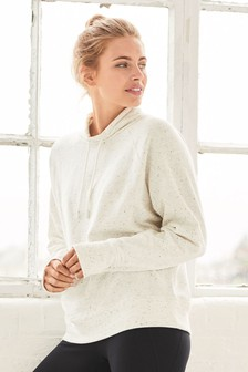 Overhead Cowl Neck Sweat Top