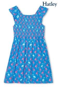 Hatley Fancy Flamingos Smocked Dress