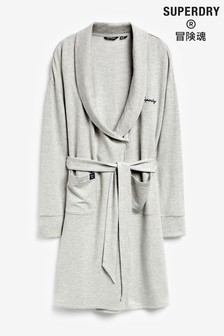 Superdry Grey Dressing Gown