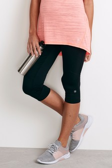 Maternity Cropped Sports Leggings