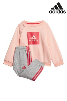 adidas Infant Box Crew And Joggers Set