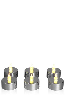 Set of 6 LED Tealight Candles