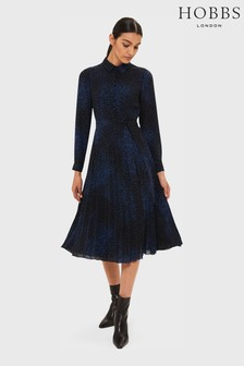Hobbs Blue Adalyn Dress