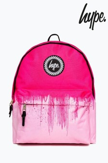 Hype. Pink Drip Backpack