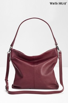 White Stuff Emma Leather Hobo Bag