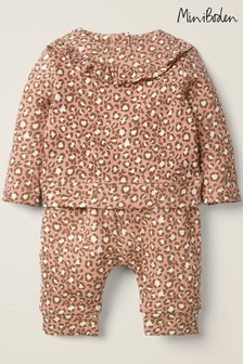 Boden Pink Cosy Jersey Set