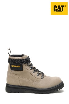 CAT® Taupe Graviton Suede Rugged Hiker Boots
