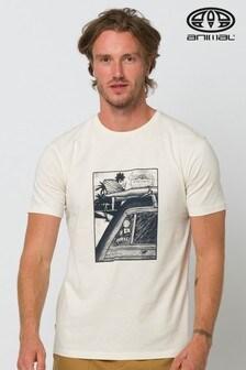Animal Cream Woody Graphic T-Shirt