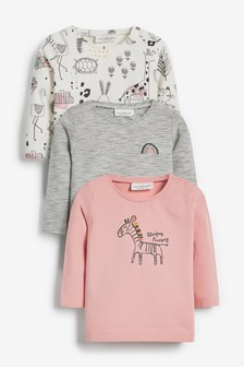 3 Pack Character Tops (0mths-2yrs)