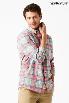 White Stuff Pink Kochi Check Shirt
