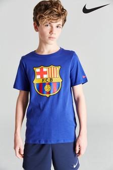 Nike FC Barcelona Kids Crest T-Shirt