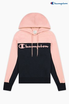 Champion Blue Hooded Sweatshirt