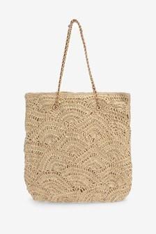 Crochet Shopper Bag