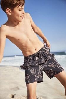 Floral Swim Shorts (3-16yrs)