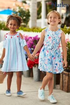 Hatley White Spring Wildflowers Party Dress