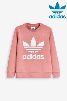 adidas Originals Pink Trefoil Crew Sweater