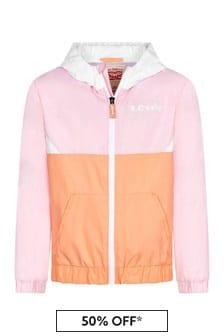 Levis Kidswear Girls Pink Jacket