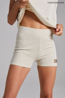 Calvin Klein Jeans Milano Cropped Cycling Shorts