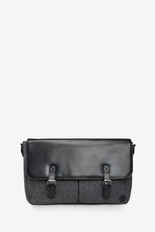 Puppytooth Messenger Bag