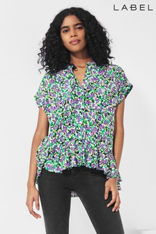 Next/Mix Ditsy Print Blouse