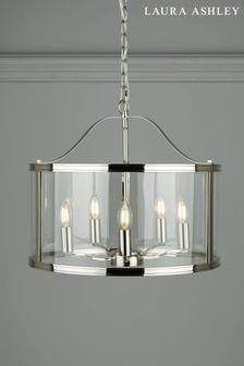 Chrome Harrington 5 Light Lantern Ceiling Light