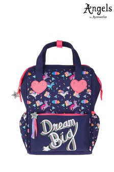 Angels by Accessorize Blue Dream Big Unicorn Handle Backpack