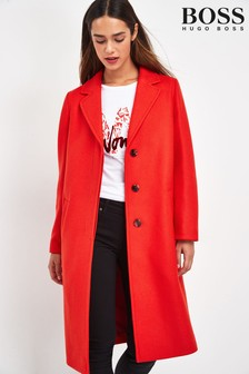 BOSS Red Oluise Wool Coat