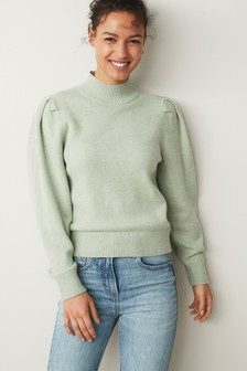 Jumper With Volume Sleeve
