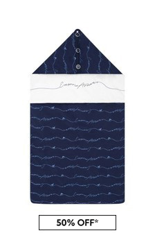Baby Boys Navy Cotton Nest