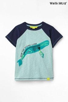White Stuff Kids Sea Creatures Jersey T-Shirt