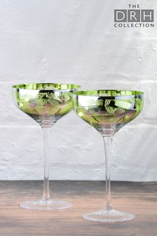 2 Pack Champagne Saucers By The DRH Collection