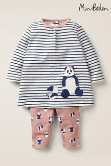 Boden Pink Panda Dress Playset
