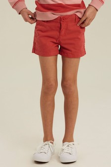 FatFace Red Alice Chino Shorts