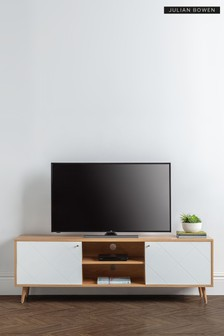 Moritz TV Unit Oak by Julian Bowen